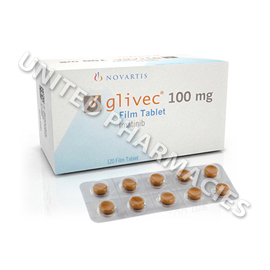 Glivec (Imatinib Mesylate) - 100mg (120 Tablets)